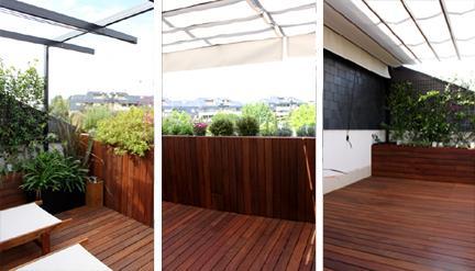 Dise o de jard n y decoraci n para una terraza peque a y for Disenos de terrazas pequenas