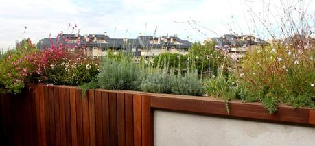 Dise o de jard n y decoraci n para una terraza peque a y - Jardin en terraza pequena ...