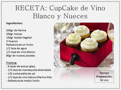 cupcake vino blanco
