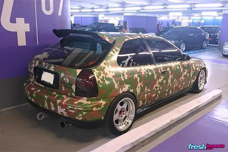 Camouflage-Civic-EK