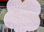 #Haul# ~Agosto Septiembre~ Todo Primor