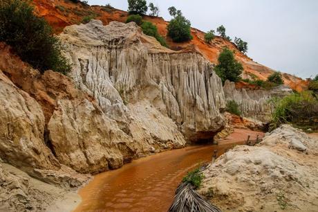 Aguas arcillosas y tierra roja, Fairy Stream