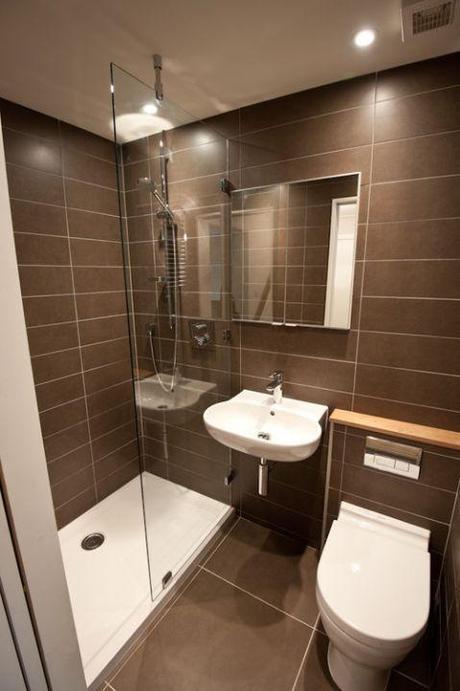 Baño Pequeno Para Habitacion:10 Consejos para mejorar el diseño de cuarto de baño pequeño