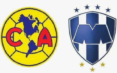 Trasmision en vivo América vs Monterrey Liga mx jornada 13 futbol mexicano