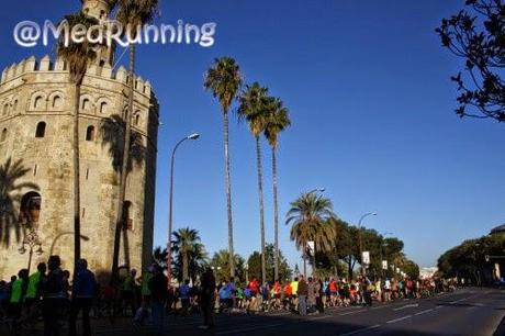 El Circuito de la I Media Maratón de Sevilla