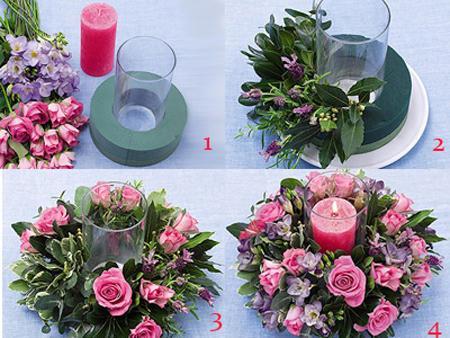 Cómo hacer Arreglos Florales para Bodas.Ideas geniales - Paperblog