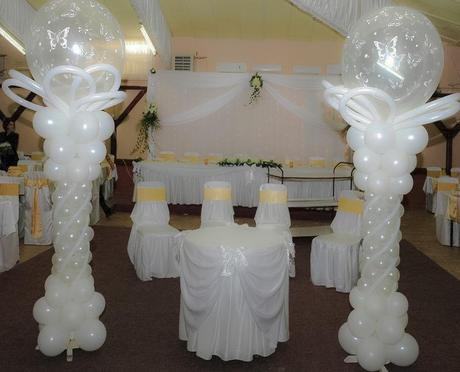 Adornos con globos para boda originales dise os paperblog for Decoracion para casamiento
