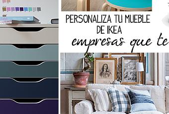Personaliza tu mueble de ikea paperblog for Personaliza tu mueble