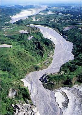 lahar del volcán Pinatubo