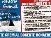 Petitorio Frente Gremial Docente. Buenos Aires