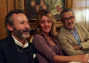 Ramiro Jofre, Pilar Cavero y Ramón Ongil