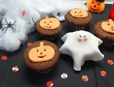 Cupcakes halloween sabor chocolate paperblog - Postres para impresionar ...