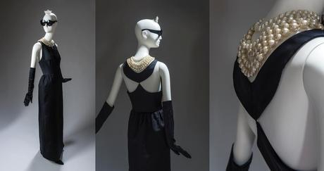 Pocos vestidos son tan reconocibles como el de  satén negro que lleva Holly Golightly ante el escaparate de Tiffany, con el cruasán en mano.