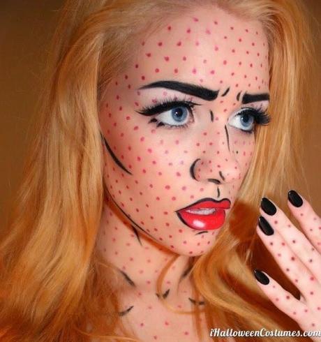 HALLOWEEN: Maquillaje tipo Comic!