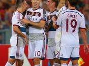 Bayern humilla Roma