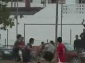 Prisión para jugadores espectador agredir árbitro Cartagena, 2010