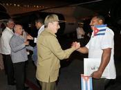 Rumbo Liberia Guinea Conakry segunda brigada médica cubana para atender ébola fotos video]