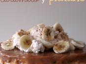 Tarta cornflakes, caramelo plátano