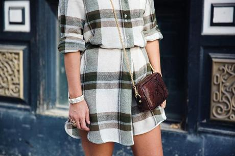 Plaid_Dress-Snake_Bag-Isabel_Marant_Boots-Outfit-Street_Style-44