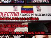 Para colectivos marcharan mañana centro Caracas.