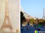 Torre Eiffel, musa arte