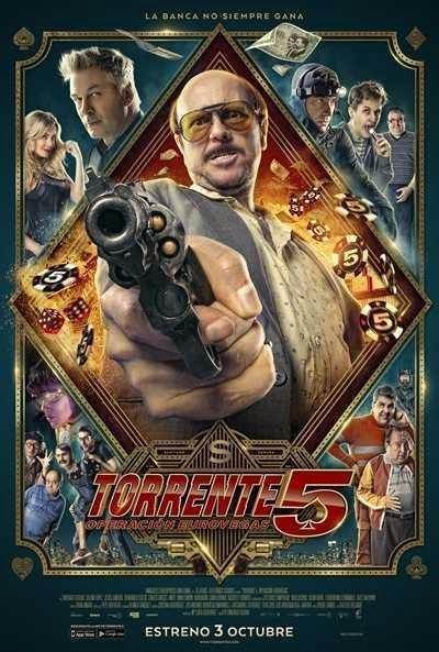 Póster: Torrente 5: Operación Eurovegas (2014)