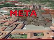 Pedestre Santiago 2014 recorrido tecnología Google Earth
