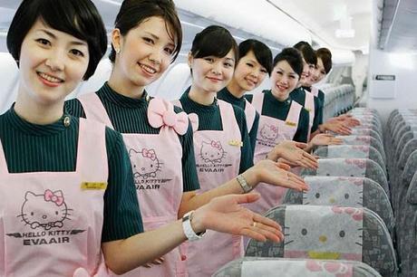 Eva Airlines Hello Kitty
