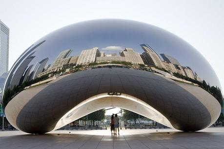 Anish Kapoor - cloude gate
