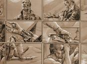 Storyboards: ilustraciones James Cameron para Terminator