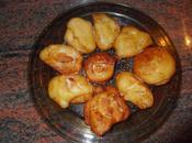 Buñuelos pera