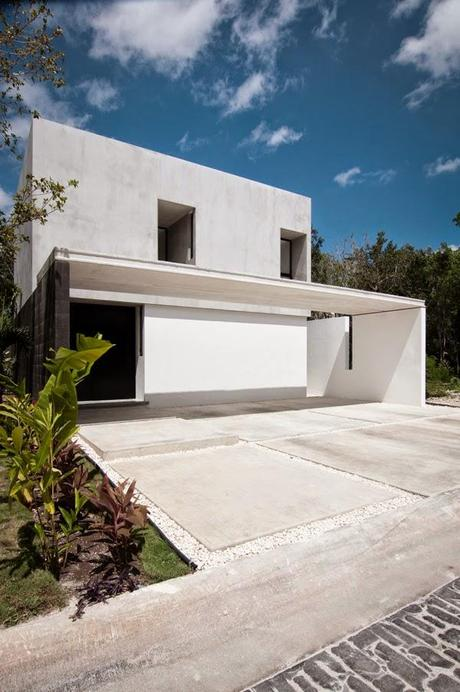 Casa minimalista en m xico paperblog for Casa minimalista blog