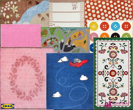 Alfombras infantiles para todos los gustos paperblog for Alfombras redondas ikea