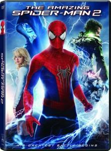 DVD de The Amazing Spider-Man 2: El Poder de Electro