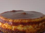 Tarta queso leche condensada crema castañas