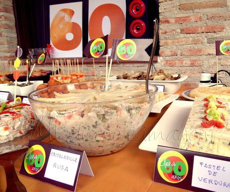 Fiesta de cumplea os tem tica a os 60 paperblog - Decoracion cumpleanos adultos 60 anos ...