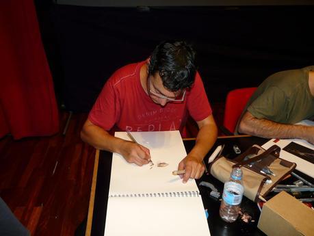 Jornadas del cómic de Avilés 2014 – Los autores.