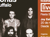 Ticketea Live Corizonas Buffalo noviembre Madrid