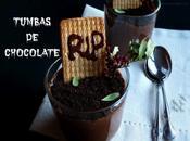 Tumbas chocolate paral Halloween
