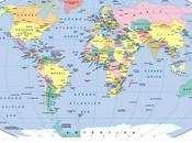 mapa político mundo