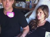Robbie Williams comparte nacimiento hijo Twitter