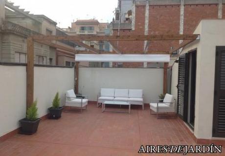 Decoraci n de terraza en barcelona paperblog for Muebles terraza barcelona