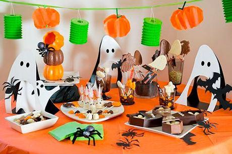 Halloween 2014 decoraci n de mesas paperblog for Decoracion mesa halloween