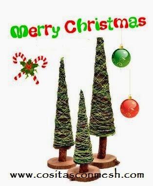 Arbolitos peque os para decorar en navidad paperblog for Arbolitos para jardines pequenos