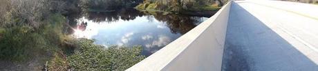 Cruzando el Myakka River sobre la State Road 72