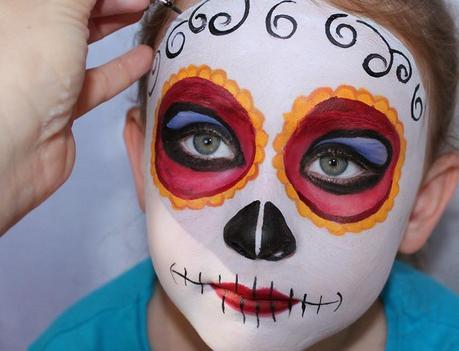 Halloween maquillaje para ni os paperblog - Pinturas de cara para ninos ...
