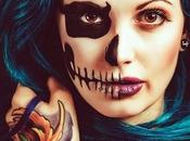 maquillajes para miedo este Halloween