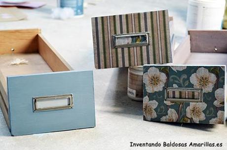 Inventando el finde decorar con papel muebles de madera for Papel de forrar muebles