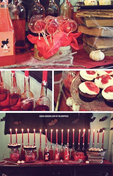 Decoracion Halloween Economica ~ C?mo decorar el comedor para una fiesta vamp?rica?