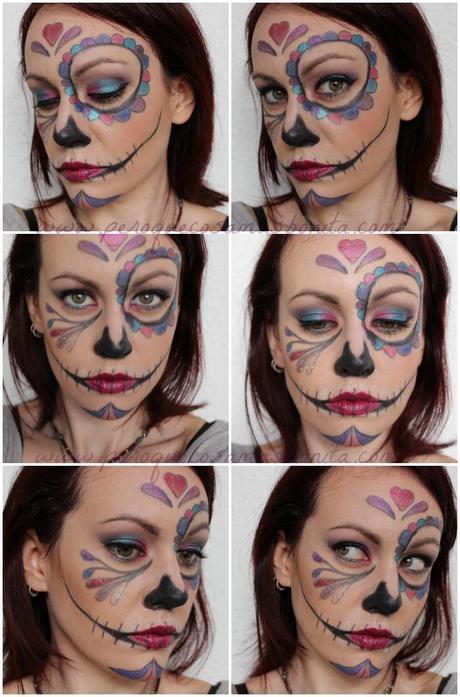 Maquillaje Halloween: Cute Skull Catrina